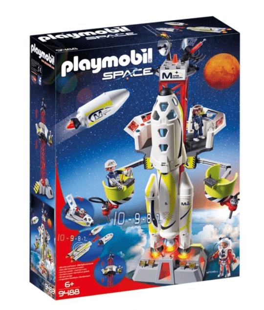 Playmobil Foguete de Missão Com Satélite de Lançamento: Playmobil Space - Sunny