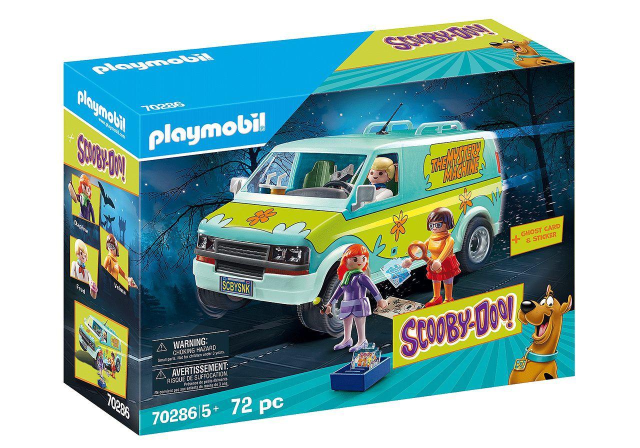 Playmobil Máquina Mistério (The Mystery Machine): Scooby-Doo - Sunny (Apenas Venda Online)