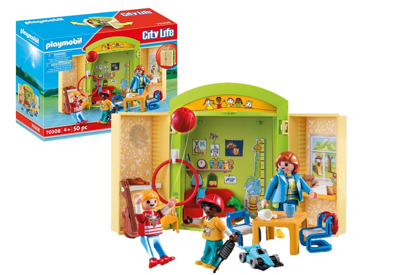 Playmobil: Pré Escola City Life 50 Peças 70308 - Sunny