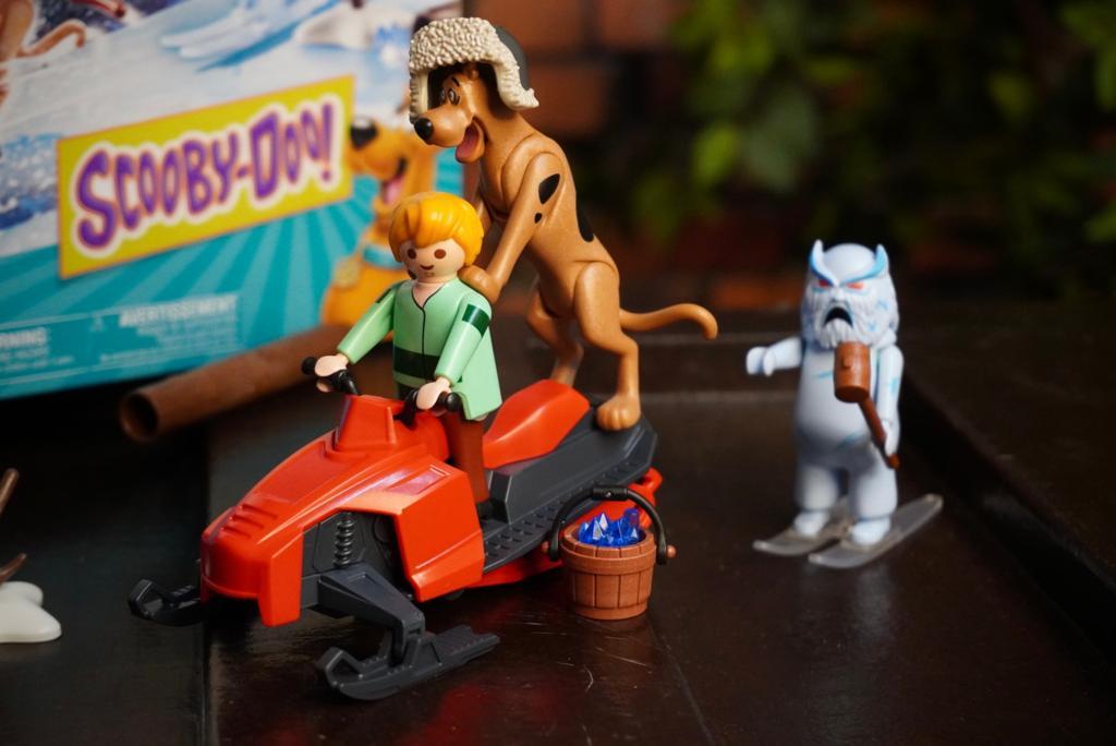 Playmobil: Scooby-doo! Aventura Com Fantasma da Neve 46 Peças - Sunny