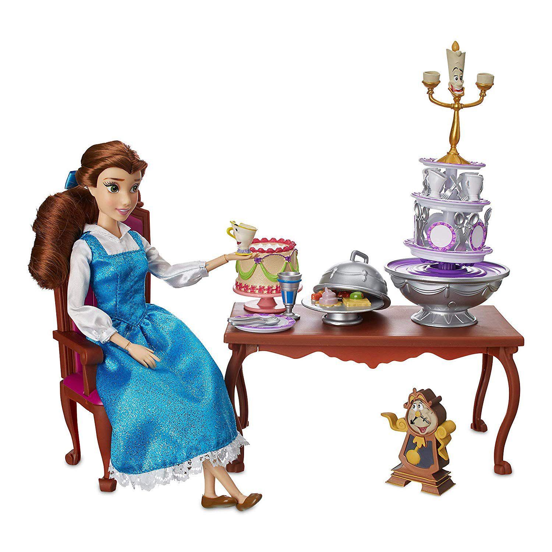 Playset Boneca Bela: A Bela e a Fera (Beauty and The Beast Dinner Party) - Disney