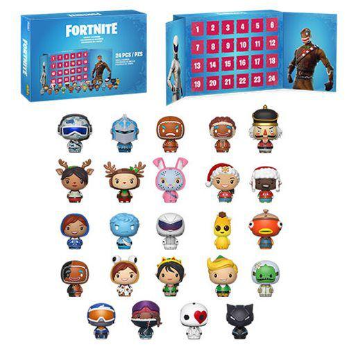 Pocket Pop! Calendário Fortnite (24 Peças) - Funko