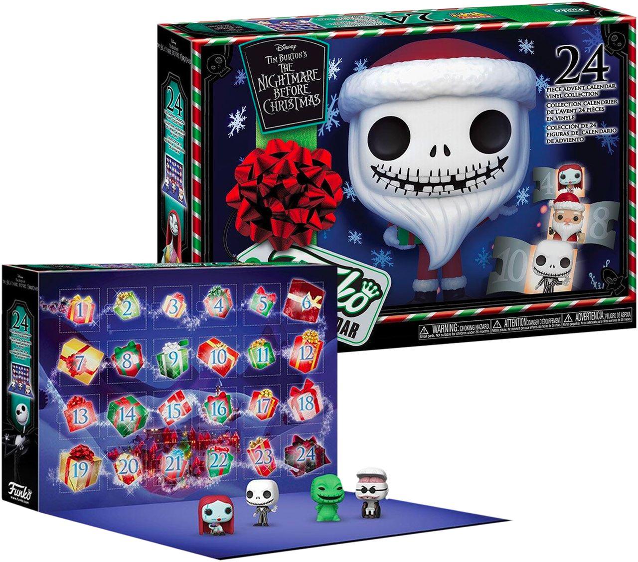 Funko Pocket Pop! Calendário O Estranho Mundo de Jack: The Nightmare Before Christmas (24 Peças) - Funko