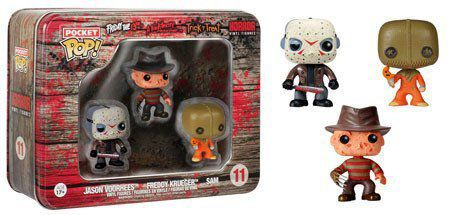 Funko Pocket Pop! Horror Tins Jason Freddy Sam - Funko