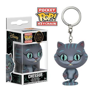 Funko Pocket Pop Keychains Chaveiro  Chessur - Alice Através do Espelho Disney - Funko