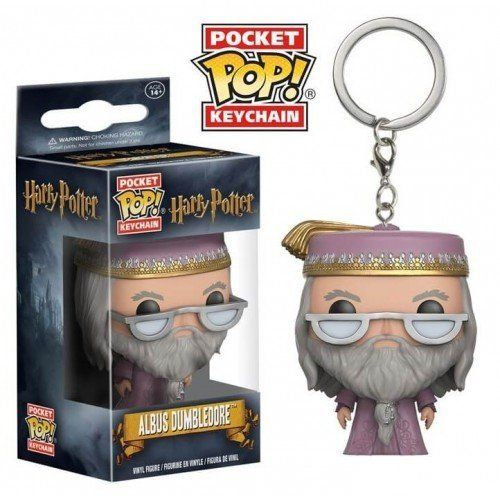 Pocket Pop Keychains (Chaveiro) Albus Dumbledore: Harry Potter - Funko
