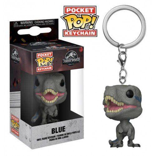 Pocket Pop Keychains (Chaveiro) Blue: Jurassic World (Reino Ameaçado) - Funko