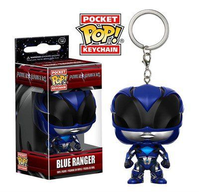 Pocket Pop Keychains (Chaveiro) Blue Ranger: Power Rangers - Funko
