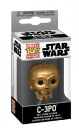Pocket Pop Keychains (Chaveiro) C-3PO: Star Wars - Funko
