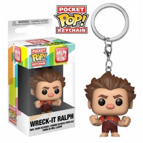 Pocket Pop Keychains (Chaveiro) Detona Ralph (Wreck-It Ralph): WiFi Ralph Quebrando a Internet - Funko