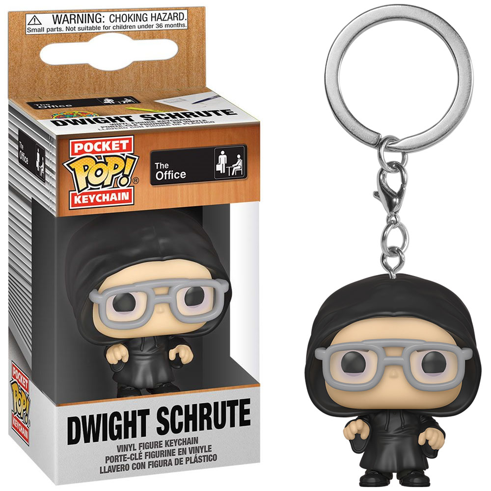 Pocket Pop Keychains (Chaveiro) Dwight Schrute: The Office - Funko