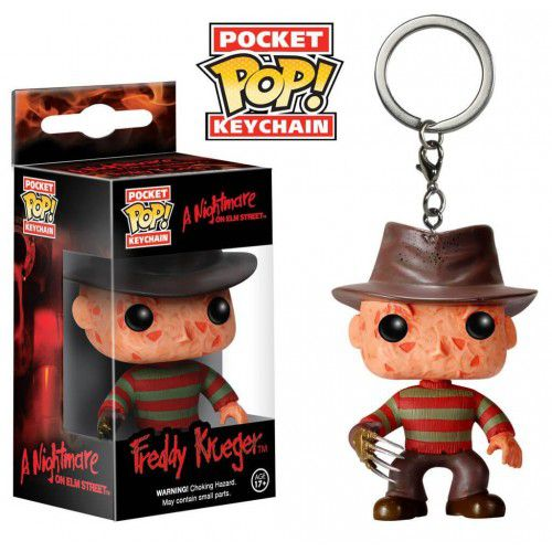 Pocket Pop Keychains (Chaveiro) Freddy Krueger: A Hora do Pesadelo (A Nightmare on Elm Street) - Funko