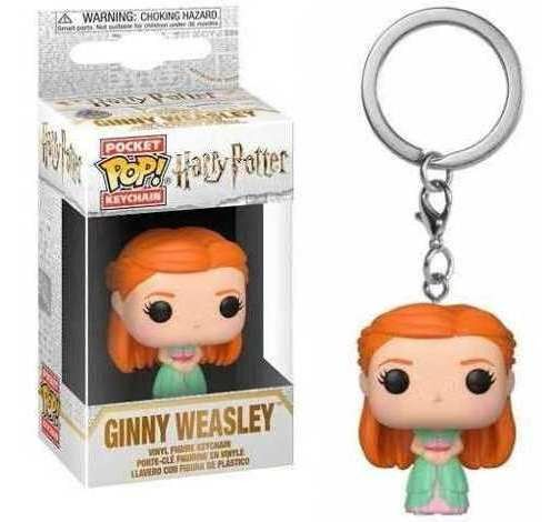 Pocket Pop Keychains (Chaveiro) Ginny Weasley: Harry Potter - Funko