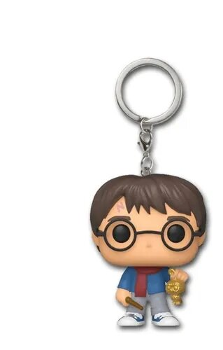 Funko Pocket Pop Keychains (Chaveiro) Harry Potter Com Varinha Harry Potter - Funko