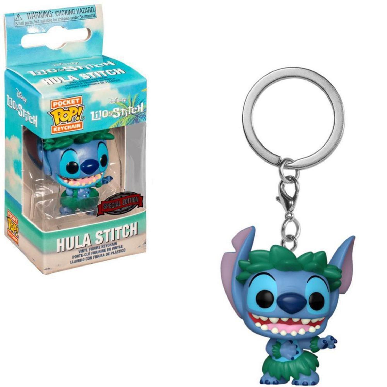 Pocket Pop Keychains Chaveiro Hula Stitch: Lilo & Stitch Edição Especial Special Edition Disney  - Funko