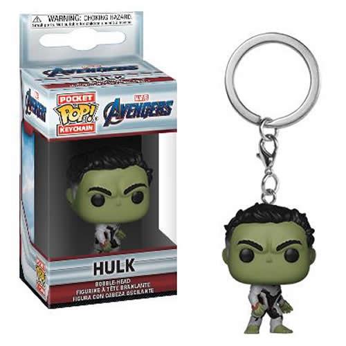 Pocket Pop Keychains (Chaveiro) Hulk: Vingadores Ultimato (Avengers Endgame) - Funko (Apenas Venda Online)
