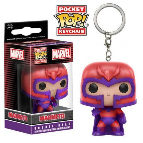 Pocket Pop Keychains (Chaveiro) Magneto: Marvel - Funko