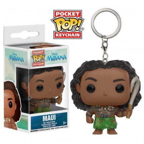 Pocket Pop Keychains (Chaveiro) Maui: Moana (Disney) - Funko