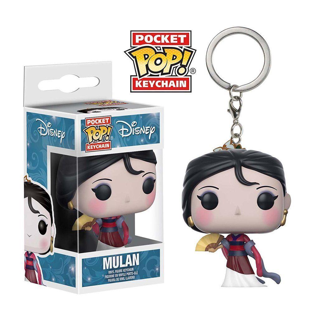 Funko Pocket Pop Keychains (Chaveiro) Mulan: Disney - Funko