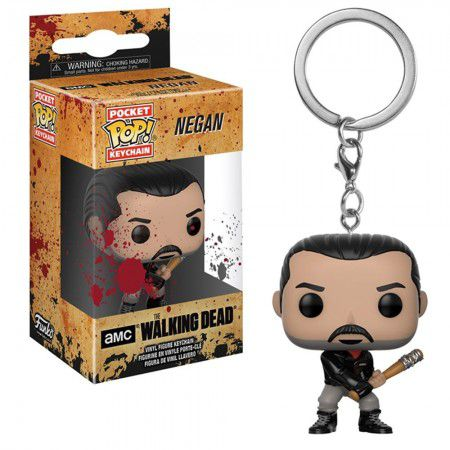 Pocket Pop Keychains (Chaveiro) Negan - The Walking Dead - Funko