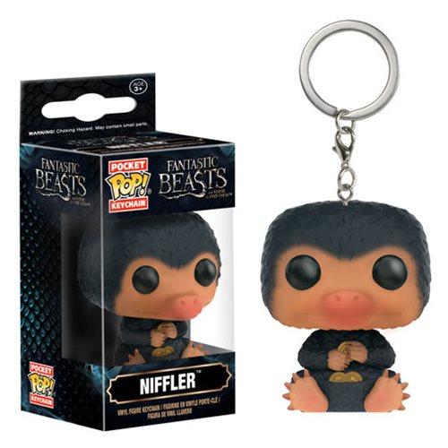Pocket Pop Keychains (Chaveiro) Niffler: Animais Fantásticos e Onde Habitam - Funko