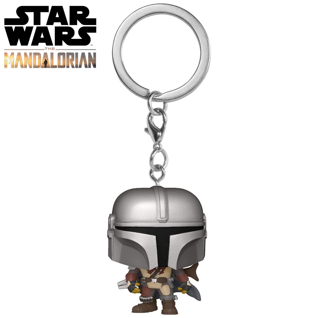 Pocket Pop Keychains (Chaveiro) O Mandaloriano (The Mandalorian): Star Wars - Funko