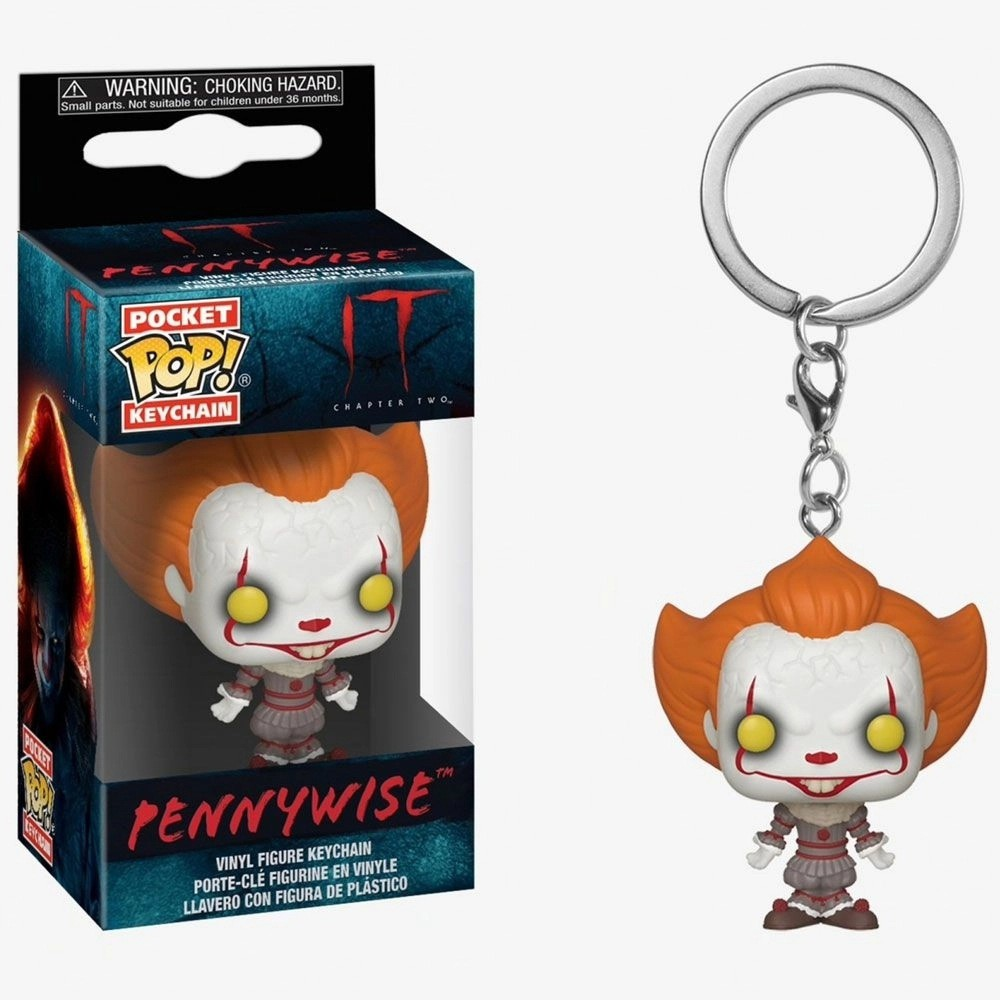 Funko Pocket Pop Keychains (Chaveiro) Pennywise IT: Chapter 2 (2019)- Funko