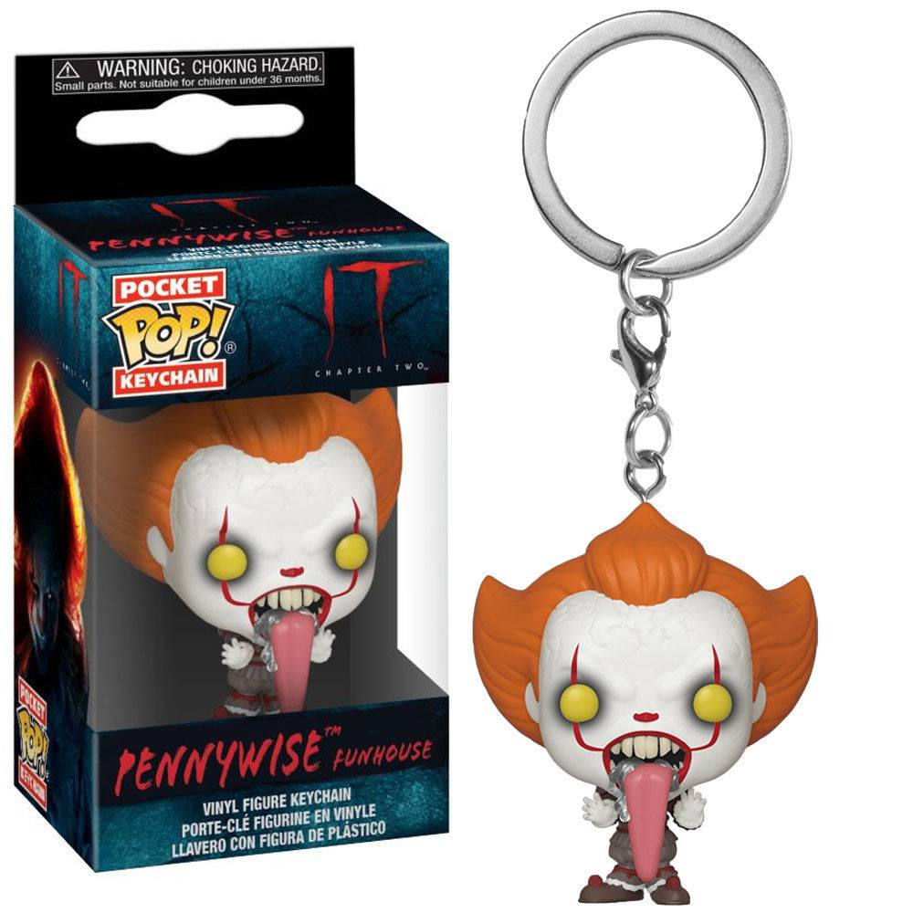 Pocket Pop Keychains (Chaveiro) Pennywise: It Chapter 2 (Funhouse) - Funko