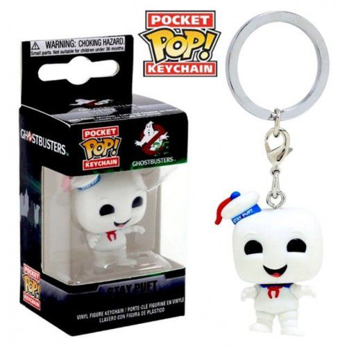 Pocket Pop Keychains (Chaveiro) Stay Puft: Caça Fantasmas (Ghostbusters) - Funko