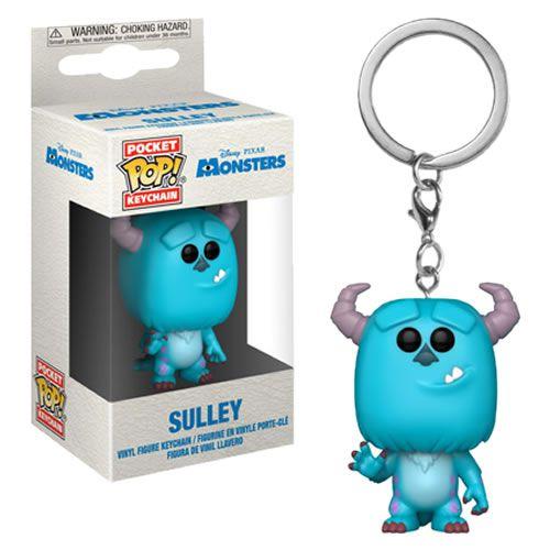 Pocket Pop Keychains (Chaveiro) Sulley: Monstros S.A. (Monsters Inc.) - Funko (Apenas Venda Online)