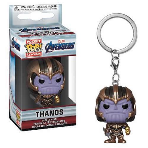 Pocket Pop Keychains (Chaveiro) Thanos: Vingadores Ultimato (Avengers Endgame) - Funko (Apenas Venda Online)