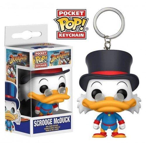 Pocket Pop Keychains (Chaveiro) Tio Patinhas (Scrooge McDuck): DuckTales - Funko