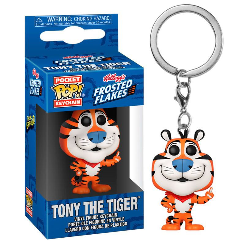 Pocket Pop Keychains (Chaveiro) Tony the Tiger: Kellogg's (Ad Icons) - Funko