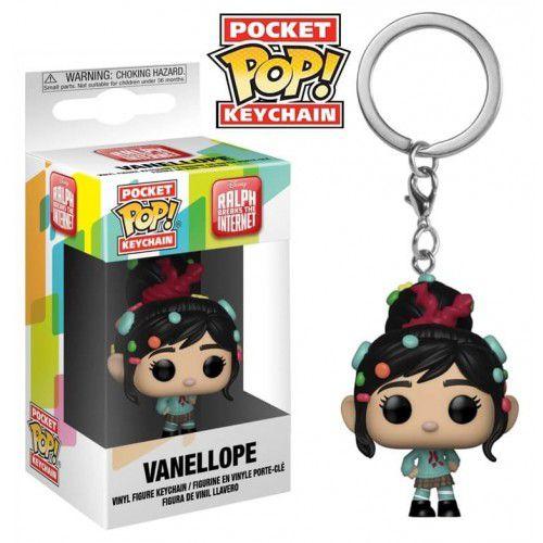 Pocket Pop Keychains (Chaveiro) Vanellope: WiFi Ralph Quebrando a Internet - Funko