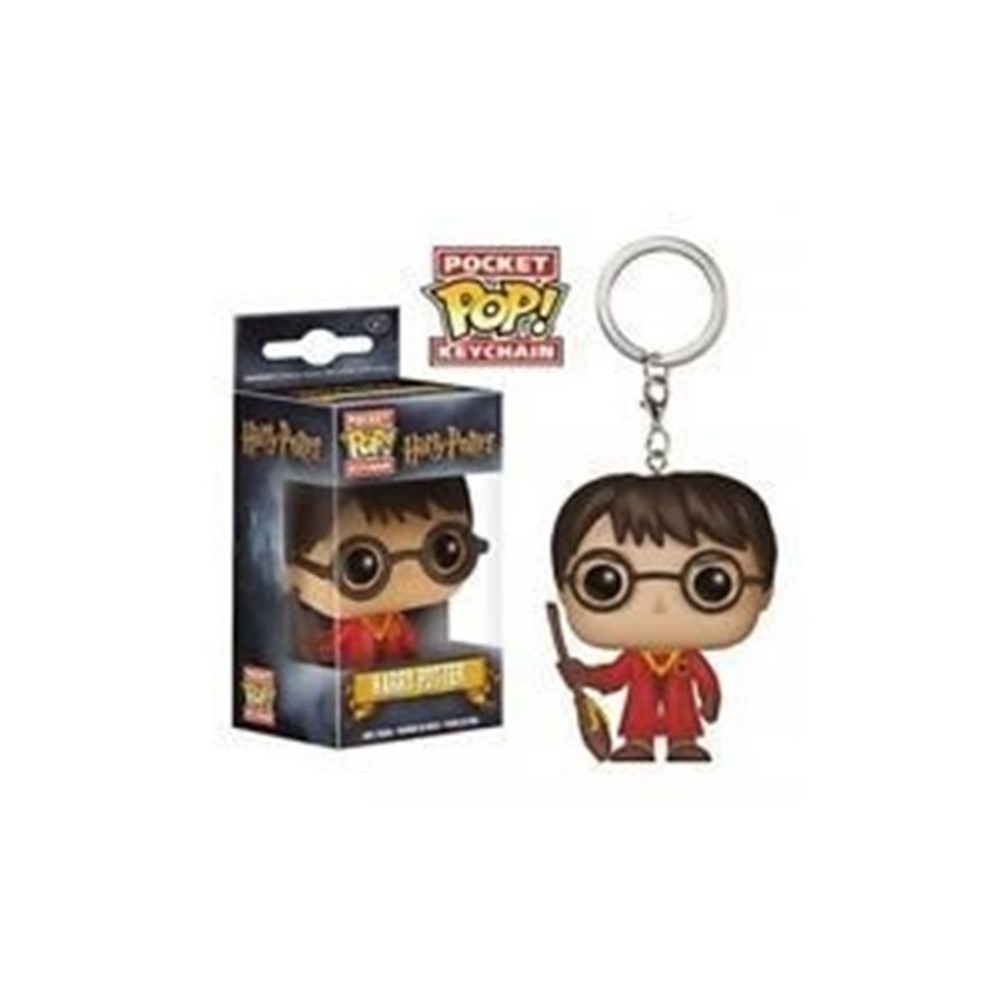 Pocket Pop! Keychains Harry Potter Quadribol Exclusivo - Funko