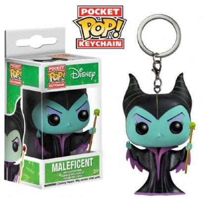 Pocket Pop Keychains (Chaveiro) Malévola (Maleficent) - Funko