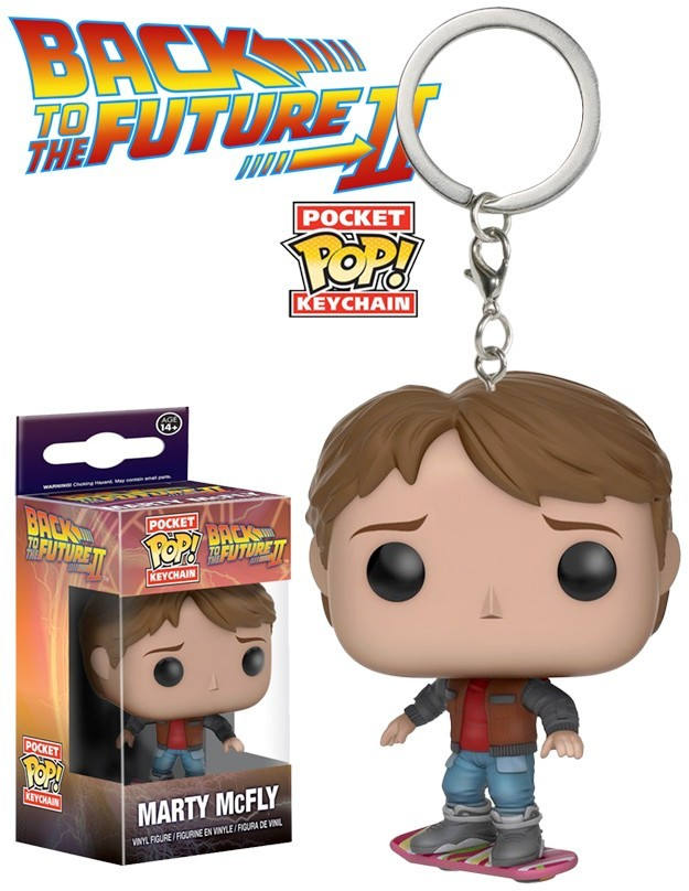 Funko Pocket Pop! Keychains: Back To The Future: Marty Mcfly - Funko