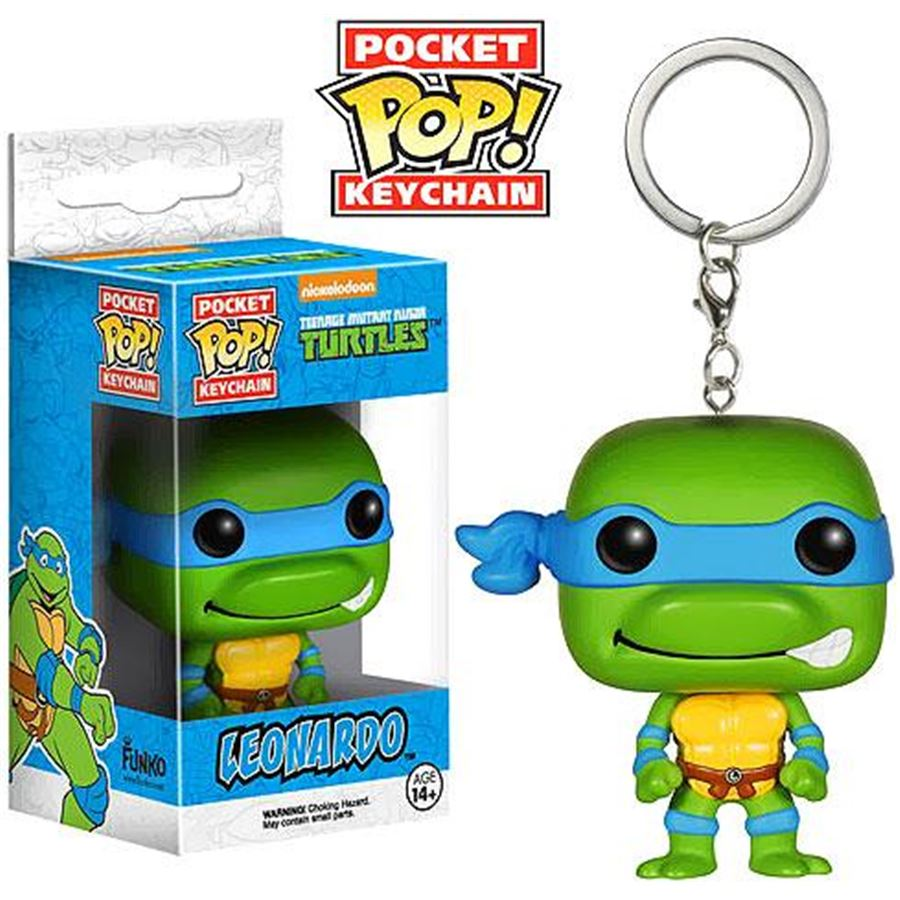 Funko Pocket Pop! Keychains: Teenage Mutant Ninja Turtles: Leonardo - Funko