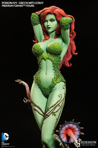 Poison Ivy Green With Envy Premium Format Escala 1/4 - Sideshow