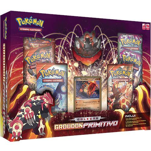 Pokémon Coleção Groudon Primitivo - Copag