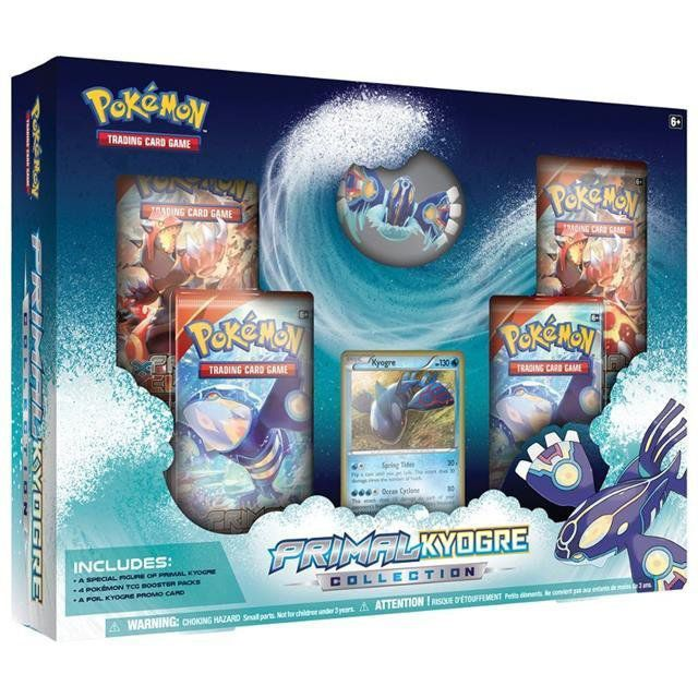 Pokémon Coleção Kyogre Primitivo - Copag