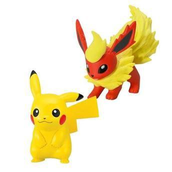 Pokemon XY Mini Figuras Pikachu vs Darkrai - Tomy