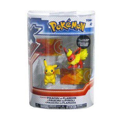 Pokemon XY Mini Figuras Pikachu vs Darkrai - Tomy