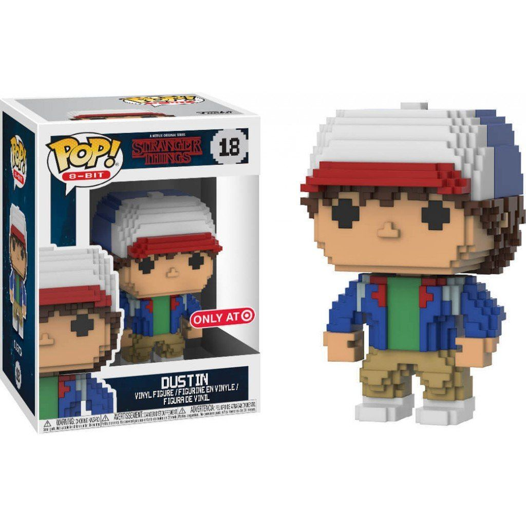Pop! 8-Bit Dustin: Stranger Things  (Exclusivo) #18 - Funko