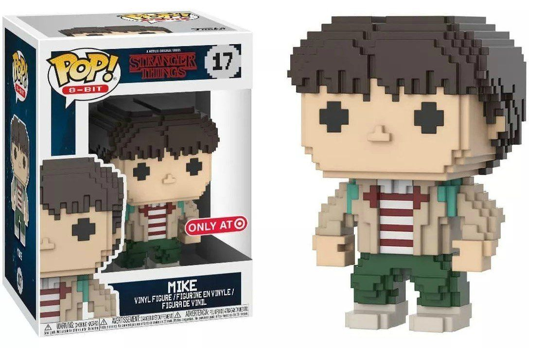 Pop! 8-Bit Mike: Stranger Things (Exclusivo) #17 - Funko