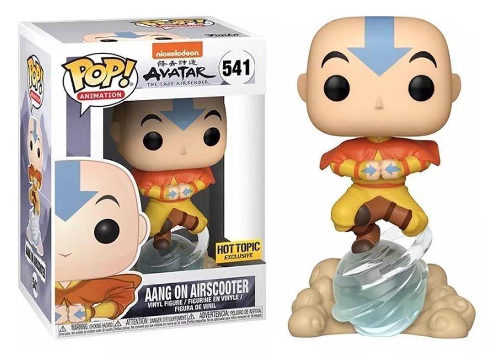 Pop! Aang (On Airscooter): Avatar O Último Mestre do Ar (The  Last Airbender) Exclusivo #541 - Funko (Apenas Venda Online)