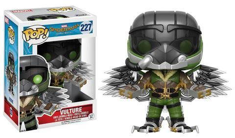 Funko Pop Abutre (Vulture): Homem-Aranha De Volta ao Lar (Spider-Man Homecoming) #227 - Funko
