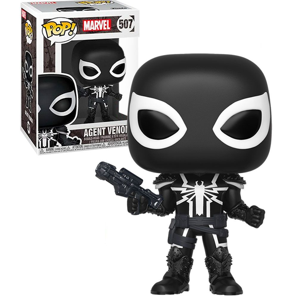 Pop! Agent Venom: Marvel Comics (Exclusivo) #507 - Funko
