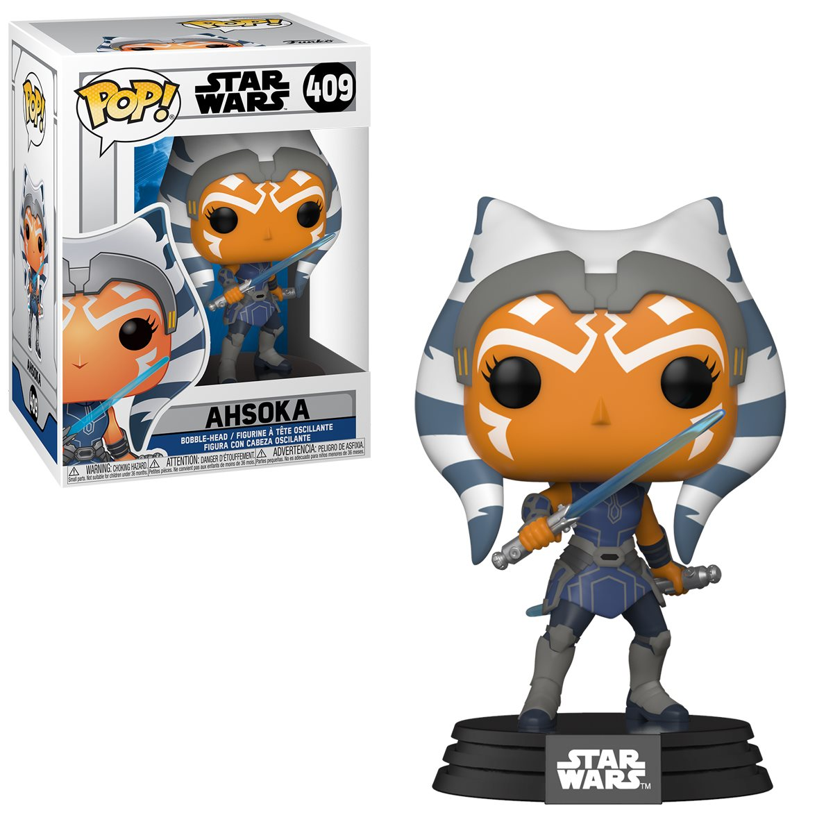 PRÉ VENDA: Funko Pop! Ahsoka: Star Wars: The Clone Wars #409 - Funko