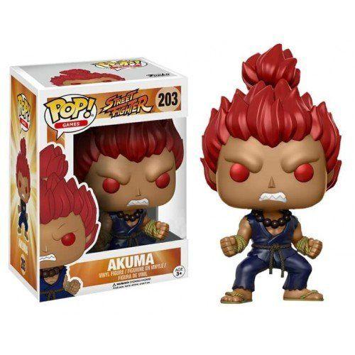 Funko Pop! Akuma: Street Fighter (Exclusivo) #203 - Funko